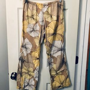Old Navy Intimates Women's Floral Pj Bottoms